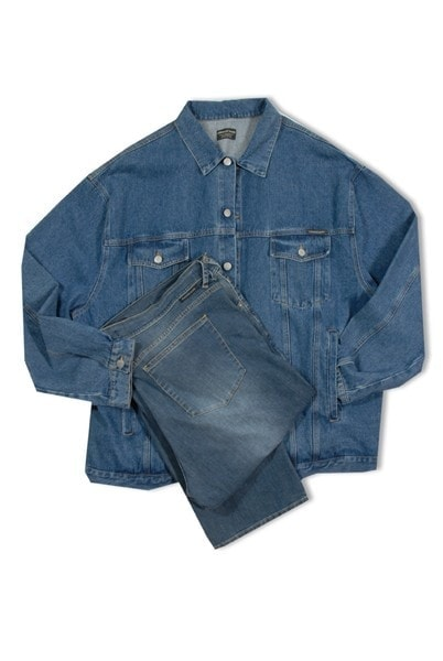 Giacca 1102 in Blue Jeans