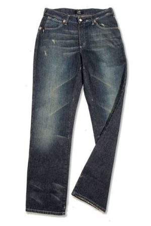 Pantalone 3811 in Denim con zip