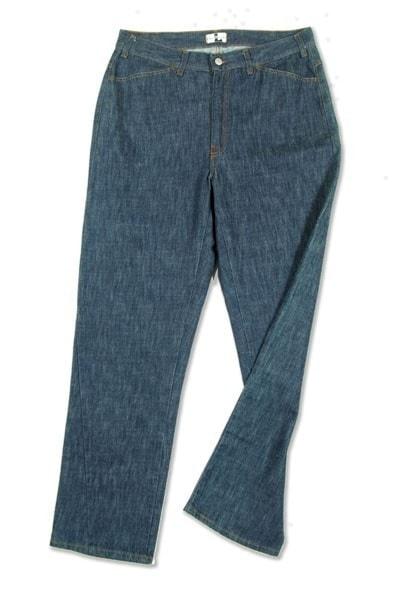 Pantalone 3489 in Denim con zip