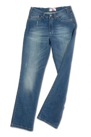 Pantalone 4403 in Denim con zip