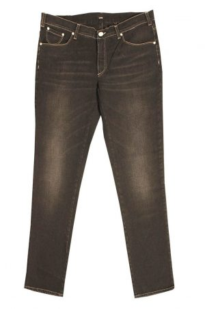 Pantalone 4686 in Denim Elasticizzato con zip