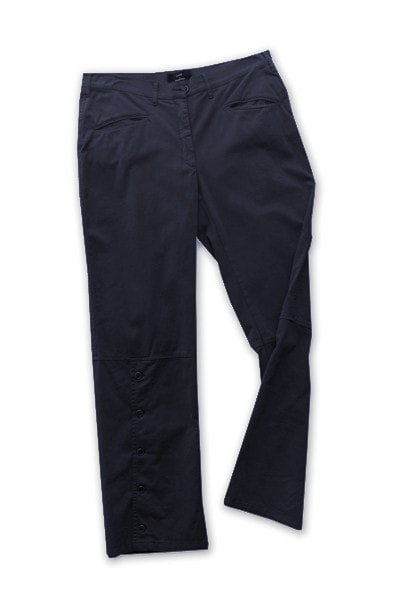 Pantalone 4131 in Cotone invernale con zip e fondo con bottoni