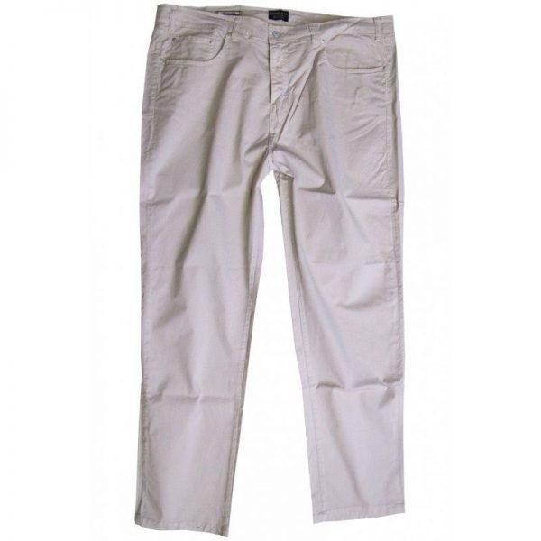 Pantalone 2739 Vita Alta in Cotone Elasticizzato leggero