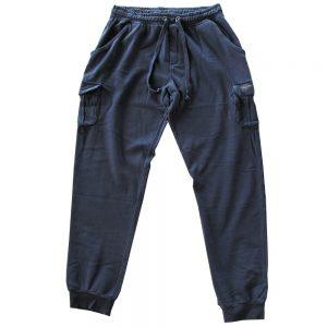 Pantalone Canadese Vita Alta in Cotone con tasche laterali