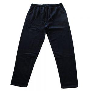 Pantalone Canadese Vita Alta in Felpa