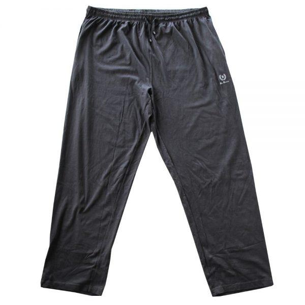 Pantalone Canadese Vita Alta in Cotone Interlock